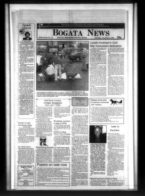 Primary view of object titled 'Bogata News (Bogata, Tex.), Vol. 87, No. 31, Ed. 1 Thursday, December 4, 1997'.