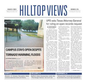 Hilltop Views (Austin, Tex.), Vol. 38, No. 9, Ed. 1 Wednesday, November 4, 2015