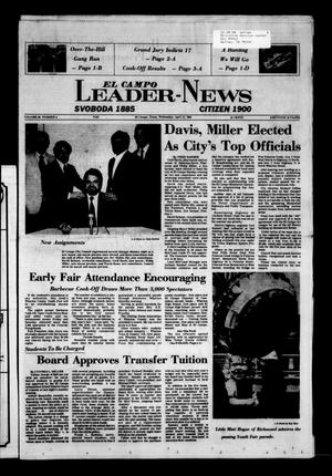 Primary view of object titled 'El Campo Leader-News (El Campo, Tex.), Vol. 99, No. 6, Ed. 1 Wednesday, April 13, 1983'.