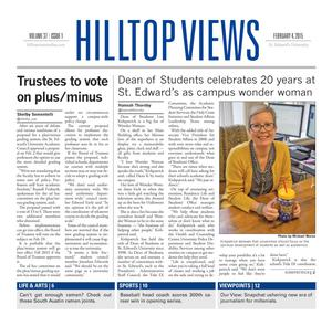 Hilltop Views (Austin, Tex.), Vol. 37, No. 2, Ed. 1 Wednesday, February 4, 2015