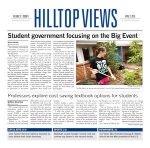 Hilltop Views (Austin, Tex.), Vol. 37, No. 9, Ed. 1 Wednesday, April 1, 2015