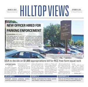 Hilltop Views (Austin, Tex.), Vol. 38, No. 2, Ed. 1 Wednesday, September 16, 2015