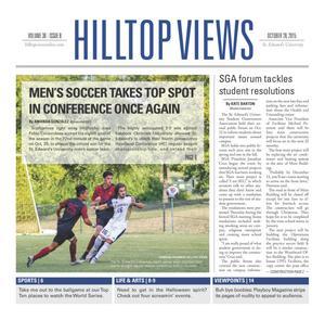 Hilltop Views (Austin, Tex.), Vol. 38, No. 8, Ed. 1 Wednesday, October 28, 2015