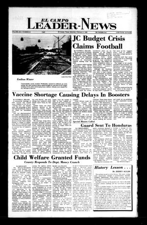 Primary view of object titled 'El Campo Leader-News (El Campo, Tex.), Vol. 99B, No. 91, Ed. 1 Saturday, February 2, 1985'.