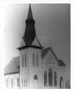 Primary view of object titled '[Centenary Methodist Church - Palestine Texas]'.