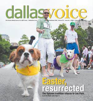 Primary view of object titled 'Dallas Voice (Dallas, Tex.), Vol. 32, No. 46, Ed. 1 Friday, March 25, 2016'.