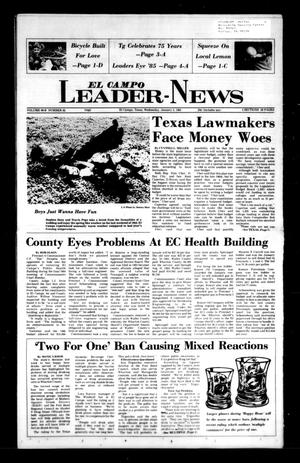Primary view of object titled 'El Campo Leader-News (El Campo, Tex.), Vol. 99B, No. 82, Ed. 1 Wednesday, January 2, 1985'.