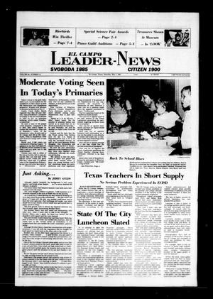 Primary view of object titled 'El Campo Leader-News (El Campo, Tex.), Vol. 98, No. 11, Ed. 1 Saturday, May 1, 1982'.