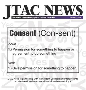 Primary view of JTAC News (Stephenville, Tex.), Ed. 1 Thursday, September 8, 2016