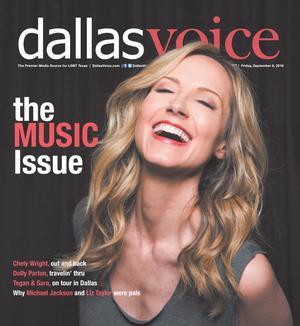 Primary view of Dallas Voice (Dallas, Tex.), Vol. [33], No. [18], Ed. 1 Friday, September 9, 2016