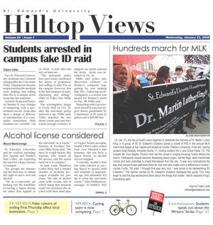 Hilltop Views (Austin, Tex.), Vol. 24, No. 1, Ed. 1 Wednesday, January 23, 2008