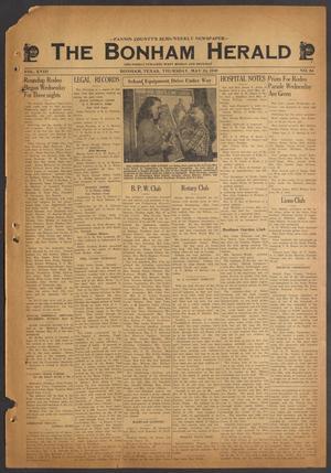 The Bonham Herald (Bonham, Tex.), Vol. 18, No. 84, Ed. 1 Thursday, May 24, 1945
