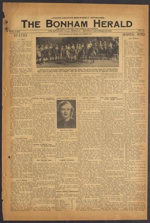 The Bonham Herald (Bonham, Tex.), Vol. 22, No. 23, Ed. 1 Monday, October 18, 1948