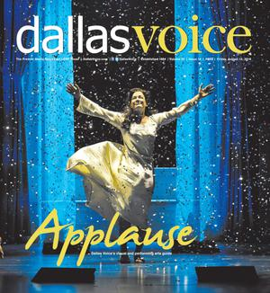 Primary view of object titled 'Dallas Voice (Dallas, Tex.), Vol. 33, No. 14, Ed. 1 Friday, August 12, 2016'.