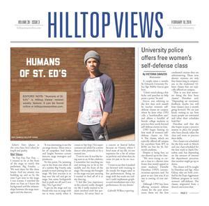 Hilltop Views (Austin, Tex.), Vol. 39, No. 3, Ed. 1 Wednesday, February 10, 2016