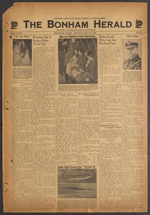 The Bonham Herald (Bonham, Tex.), Vol. 18, No. 83, Ed. 1 Monday, May 21, 1945