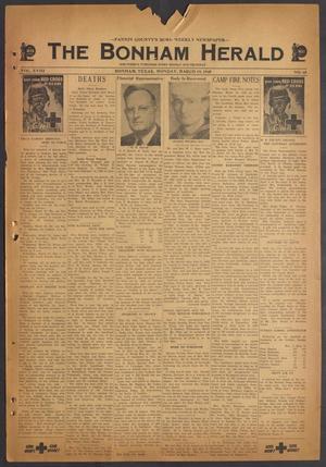 The Bonham Herald (Bonham, Tex.), Vol. 18, No. 65, Ed. 1 Monday, March 19, 1945