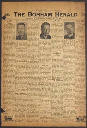 The Bonham Herald (Bonham, Tex.), Vol. 22, No. [100], Ed. 1 Thursday, July 14, 1949