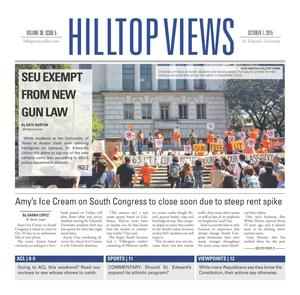 Hilltop Views (Austin, Tex.), Vol. 38, No. 5, Ed. 1 Wednesday, October 7, 2015