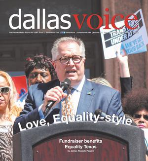 Primary view of object titled 'Dallas Voice (Dallas, Tex.), Vol. 34, No. 39, Ed. 1 Friday, February 2, 2018'.