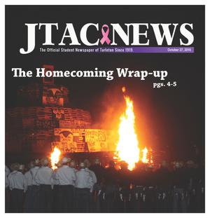 Primary view of object titled 'JTAC News (Stephenville, Tex.), Ed. 1 Thursday, October 27, 2016'.