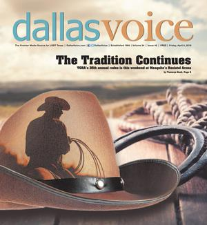 Primary view of object titled 'Dallas Voice (Dallas, Tex.), Vol. 34, No. 48, Ed. 1 Friday, April 6, 2018'.