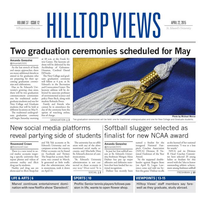 Hilltop Views (Austin, Tex ), Vol  37, No  12, Ed  1