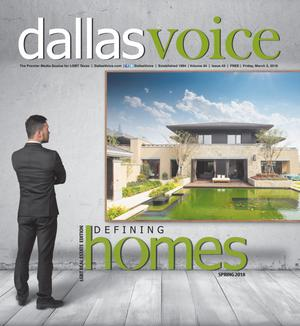 Primary view of object titled 'Dallas Voice (Dallas, Tex.), Vol. 34, No. 43, Ed. 1 Friday, March 2, 2018'.