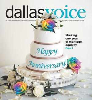Primary view of Dallas Voice (Dallas, Tex.), Vol. 33, No. 7, Ed. 1 Friday, June 24, 2016