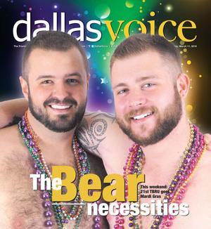 Primary view of Dallas Voice (Dallas, Tex.), Vol. 32, No. 44, Ed. 1 Friday, March 11, 2016