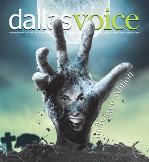 Primary view of Dallas Voice (Dallas, Tex.), Vol. 34, No. 25, Ed. 1 Friday, October 27, 2017