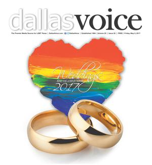 Primary view of object titled 'Dallas Voice (Dallas, Tex.), Vol. 33, No. 52, Ed. 1 Friday, May 5, 2017'.