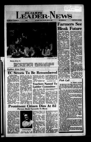 Primary view of object titled 'El Campo Leader-News (El Campo, Tex.), Vol. 99B, No. 101, Ed. 1 Saturday, March 9, 1985'.