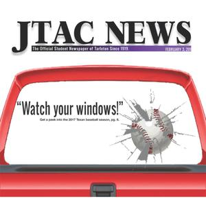 Primary view of object titled 'JTAC News (Stephenville, Tex.), Ed. 1 Friday, February 3, 2017'.