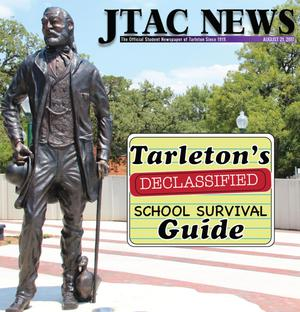 Primary view of object titled 'JTAC News (Stephenville, Tex.), Ed. 1 Monday, August 21, 2017'.