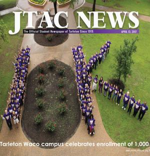 Primary view of object titled 'JTAC News (Stephenville, Tex.), Ed. 1 Thursday, April 13, 2017'.
