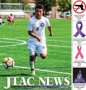 Primary view of object titled 'JTAC News (Stephenville, Tex.), Ed. 1 Wednesday, October 4, 2017'.