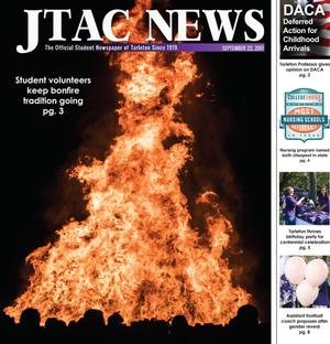 Primary view of object titled 'JTAC News (Stephenville, Tex.), Ed. 1 Friday, September 22, 2017'.