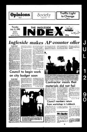 Primary view of object titled 'The Ingleside Index (Ingleside, Tex.), Vol. 41, No. 23, Ed. 1 Thursday, July 12, 1990'.