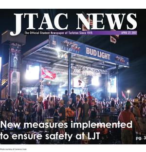 Primary view of object titled 'JTAC News (Stephenville, Tex.), Ed. 1 Thursday, April 27, 2017'.