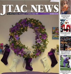 Primary view of object titled 'JTAC News (Stephenville, Tex.), Ed. 1 Wednesday, November 29, 2017'.