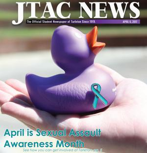 Primary view of object titled 'JTAC News (Stephenville, Tex.), Ed. 1 Thursday, April 6, 2017'.