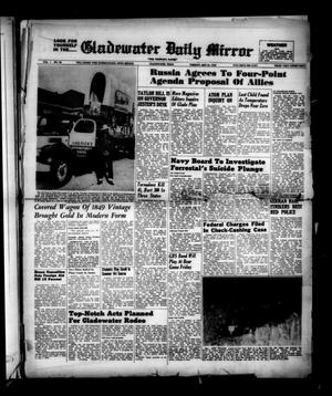 Primary view of object titled 'Gladewater Daily Mirror (Gladewater, Tex.), Vol. 1, No. 58, Ed. 1 Tuesday, May 24, 1949'.
