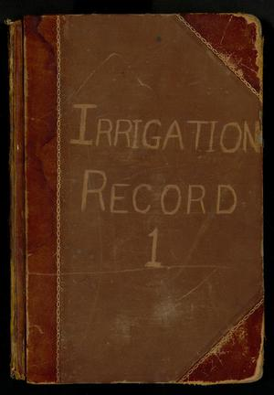 Primary view of object titled 'Travis County Clerk Records: Irrigation Record 1'.