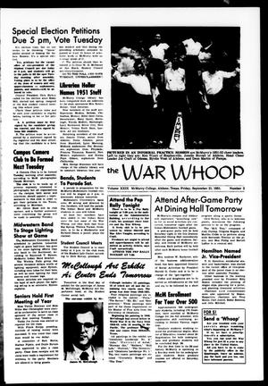 The War Whoop (Abilene, Tex.), Vol. 29, No. 2, Ed. 1, Friday, September 21, 1951