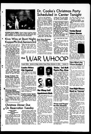The War Whoop (Abilene, Tex.), Vol. 29, No. 13, Ed. 1, Friday, December 14, 1951