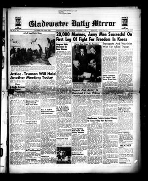 Primary view of object titled 'Gladewater Daily Mirror (Gladewater, Tex.), Vol. 2, No. 220, Ed. 1 Thursday, December 7, 1950'.