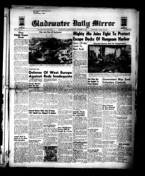 Primary view of object titled 'Gladewater Daily Mirror (Gladewater, Tex.), Vol. 2, No. 229, Ed. 1 Monday, December 18, 1950'.