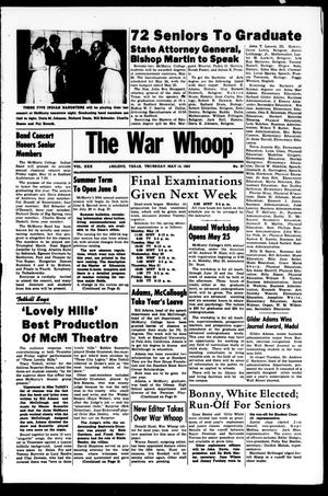 Primary view of object titled 'The War Whoop (Abilene, Tex.), Vol. 30, No. 27, Ed. 1, Thursday, May 14, 1953'.