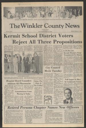 Primary view of object titled 'The Winkler County News (Kermit, Tex.), Vol. 40, No. 78, Ed. 1 Monday, December 13, 1976'.